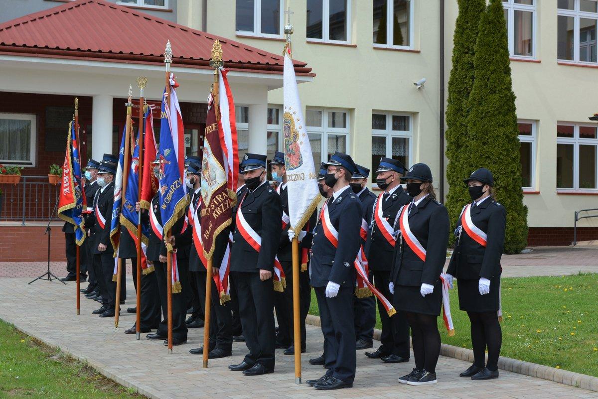 zdjęcie z uroczystości obchodów 3 maja